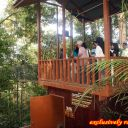 Starting point for Canopy walk