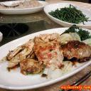 Chili Crab and Sabah Vege